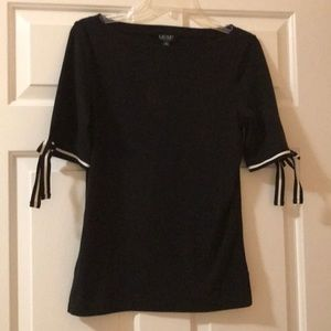 Ralph Lauren blouse with bow sleeves